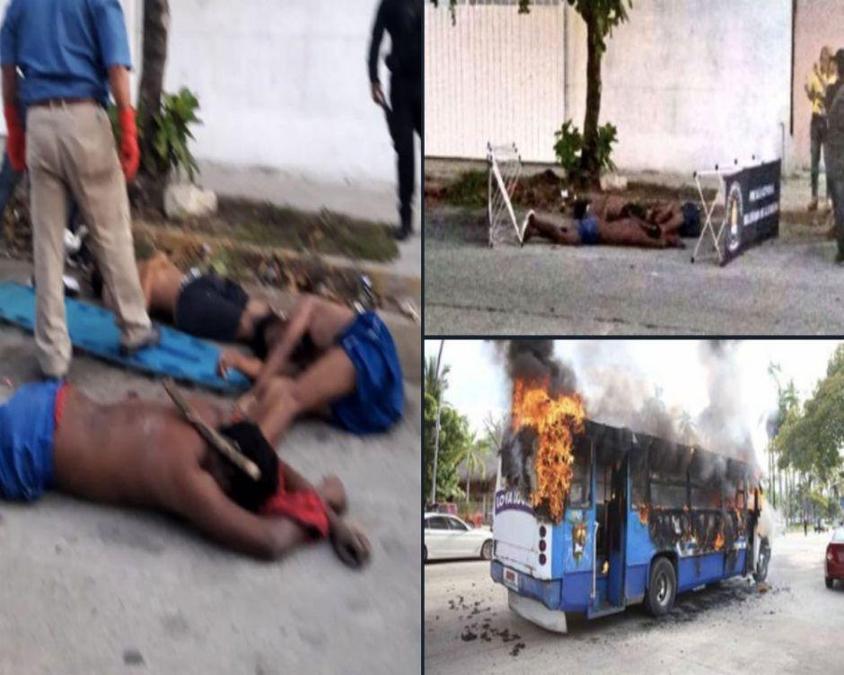 Del paraíso de Acapulco poco queda, es un infierno con jovencitos muertos y vehículos quemados