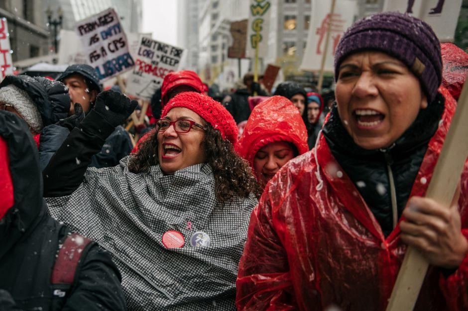 Termina la huelga de maestros de las Escuelas Públicas de Chicago
