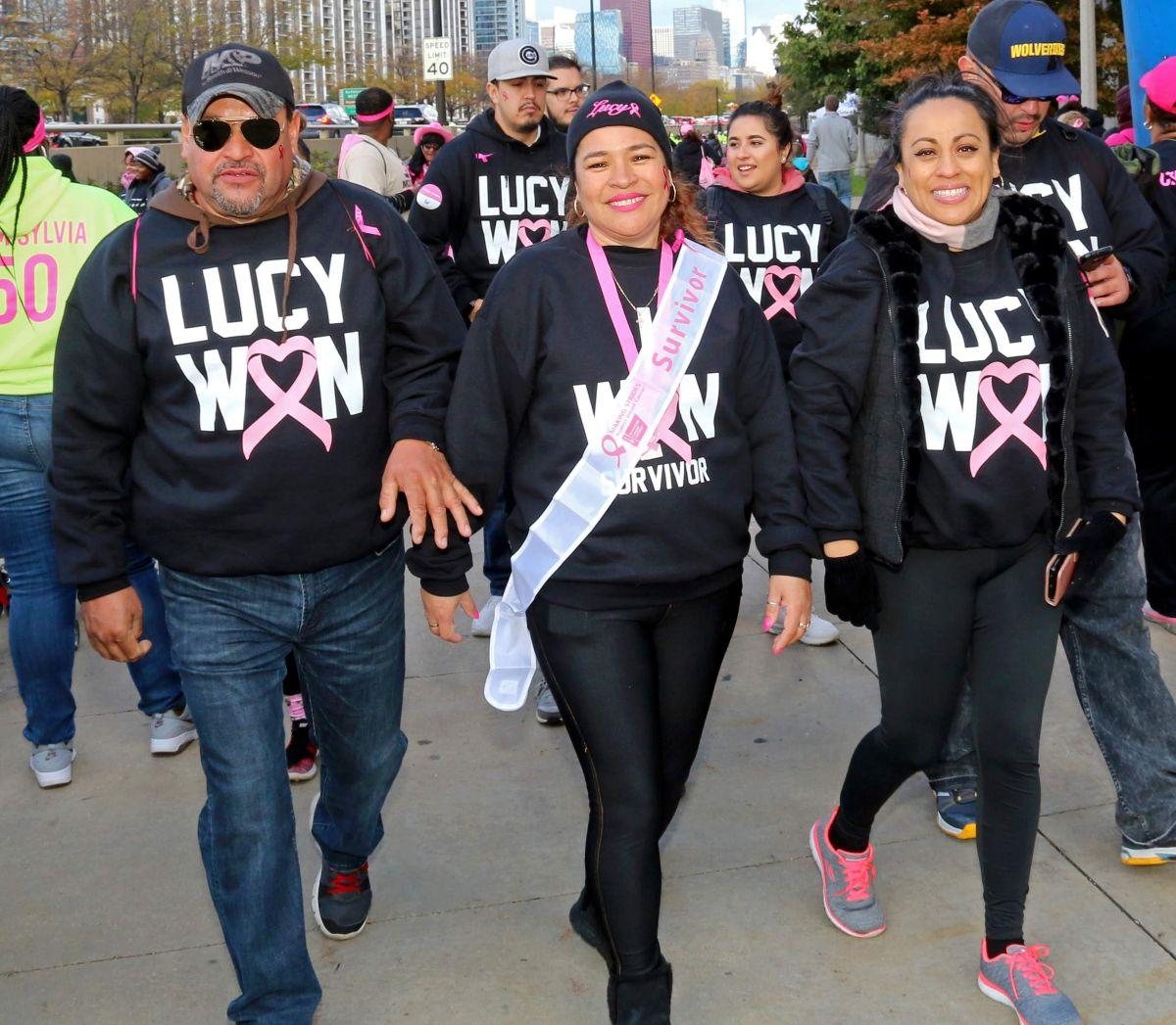 Vuelve a Chicago la caminata contra el cáncer de seno