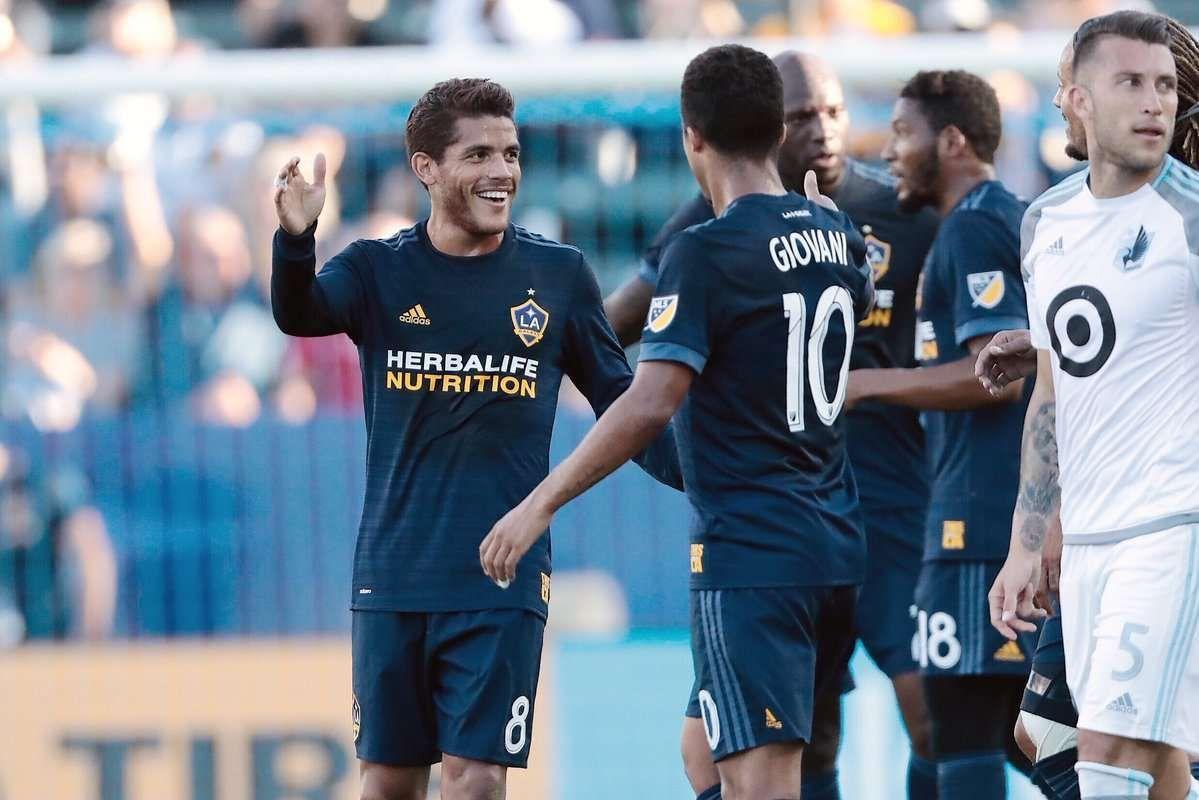 Con golazo de Jona LA Galaxy va a semifinales, enfrentarán al LAFC de Vela