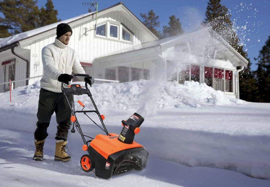 ¿Cuál es el mejor removedor de nieve eléctrico para este próximo invierno?