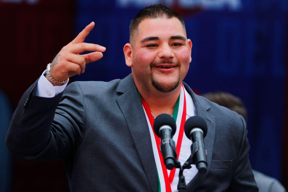 Andy Ruiz le calla la bocota al entrenador de Anthony Joshua por decirle 'gordito'