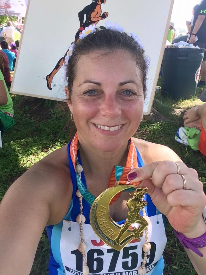 Maestra de kínder correrá 50 maratones, uno por cada estado del país