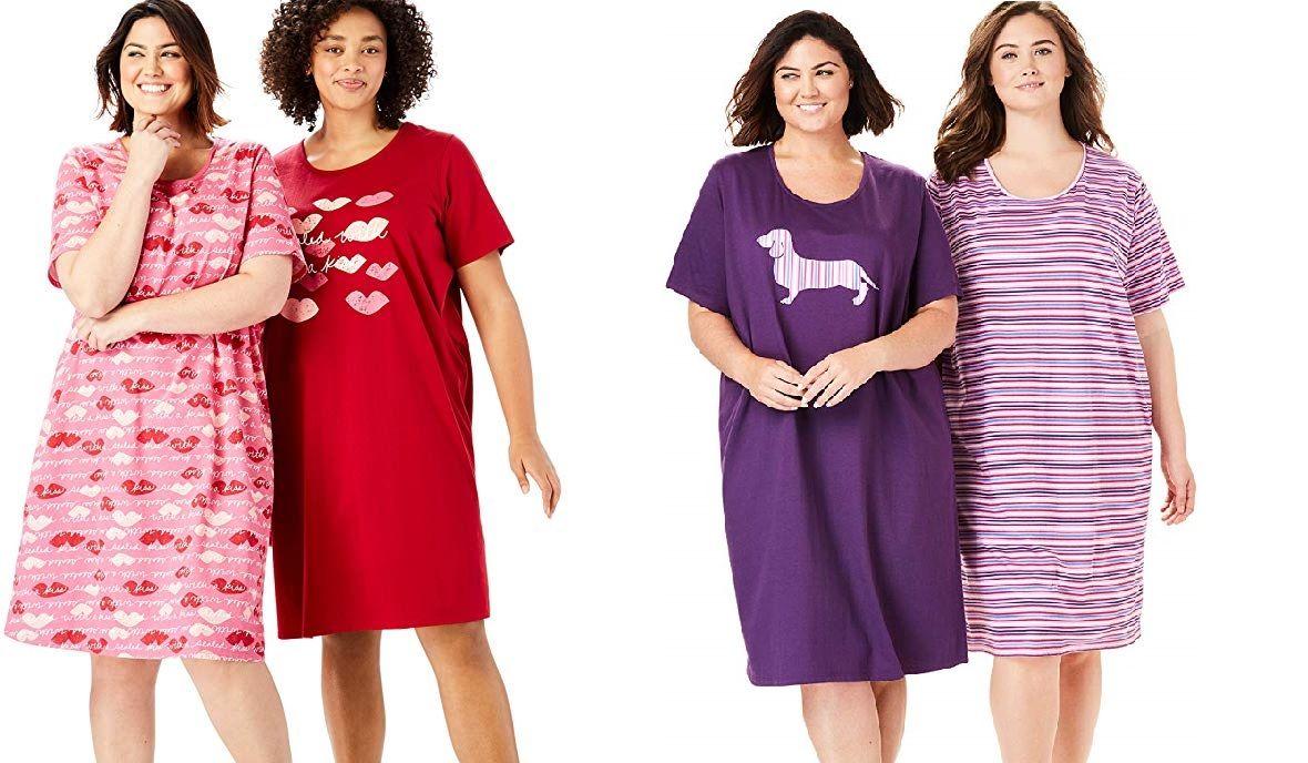 Las mejores 5 batas de dormir cómodas para mujeres de talla plus