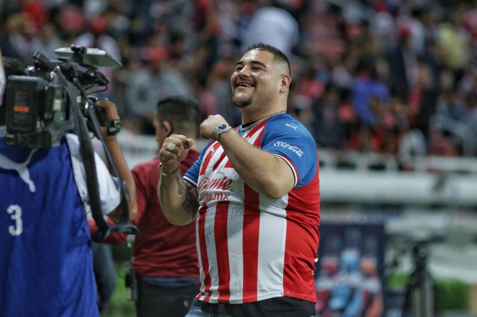 ¡Andy, hermano, ya eres chivahermano! Andy Ruiz quiere pelear en el estadio del 'rebaño'