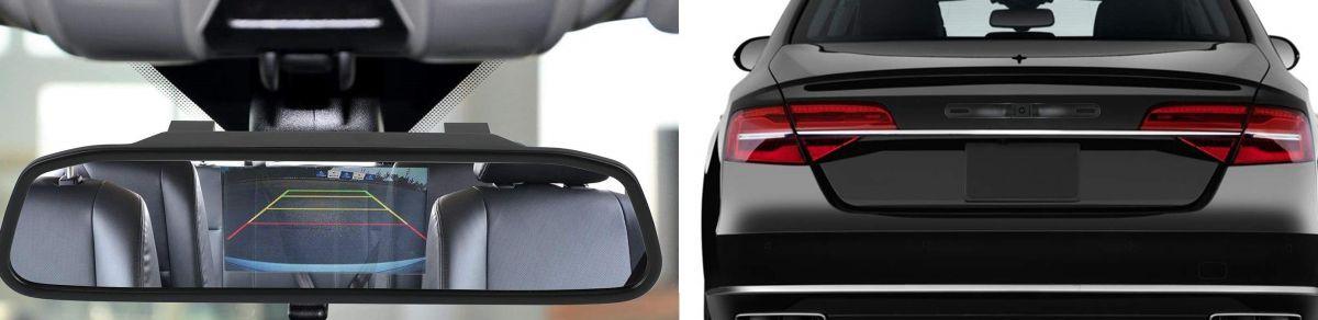 Los 4 mejores espejos retrovisores con cámara para tu auto