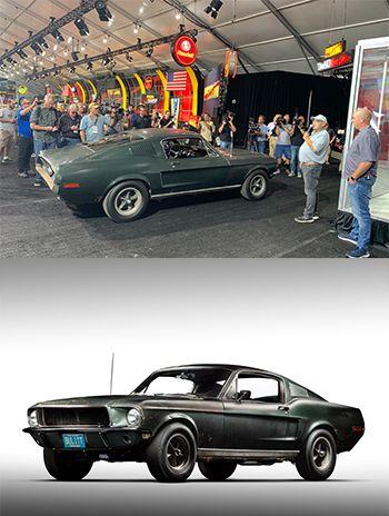 El Mustang 'Bullitt' ya se vendió en una subasta de Florida