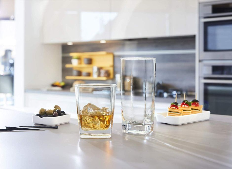 Los 5 mejores sets de vasos de cristal más vendidos en Amazon