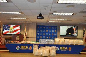 Decomisan millonario lote de metanfetaminas de narcos mexicanos en Atlanta