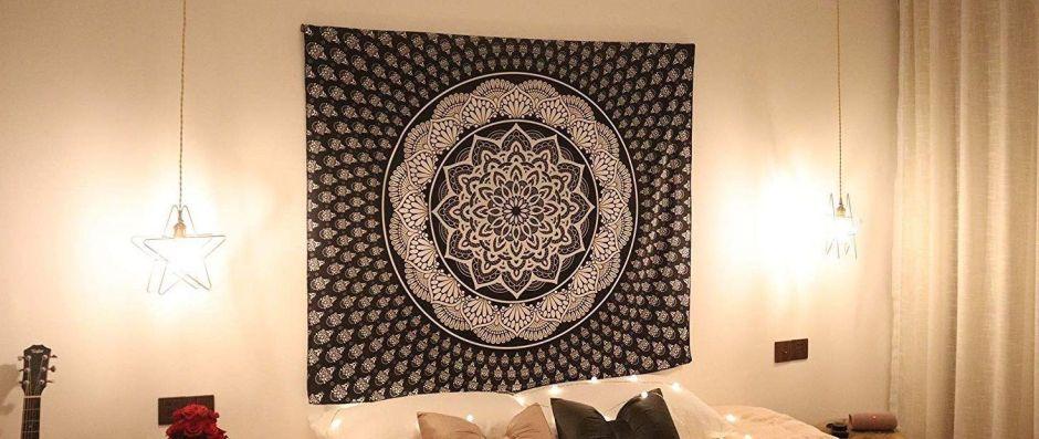 5 tapices con diseños mandala que traerán la paz y armonía a tu hogar