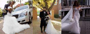 5 vestidos de novia con diseño de sirena que te harán lucir una hermosa silueta el día de tu boda