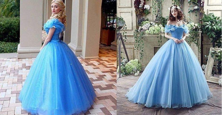 5 vestidos temáticos de princesas Disney para la cumpleañera usar en sus quinceaños