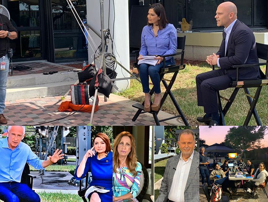Todos los shows de Univision 'a la calle' por coronavirus positivo