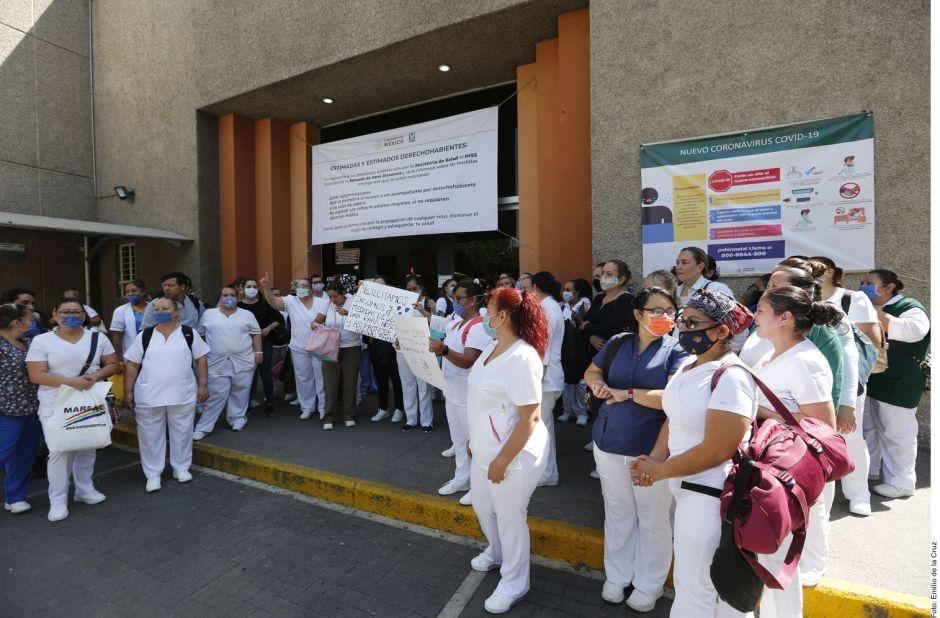 Enfermeras en Jalisco denuncian agresiones, a una le arrojaron cloro por temor a coronavirus