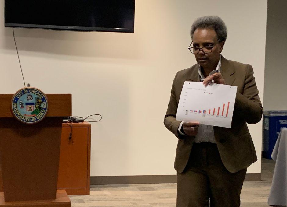 La alcaldesa Lightfoot propone plan para reabrir Chicago en 5 fases mientras se frena el coronavirus