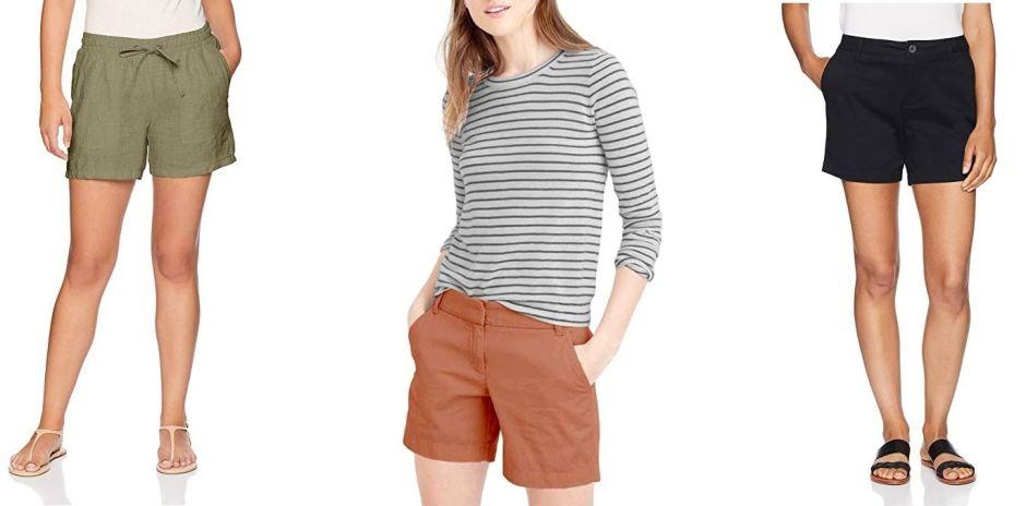 Los 7 estilos de pantalones cortos más vendidos en Amazon por menos de $30 para mujer
