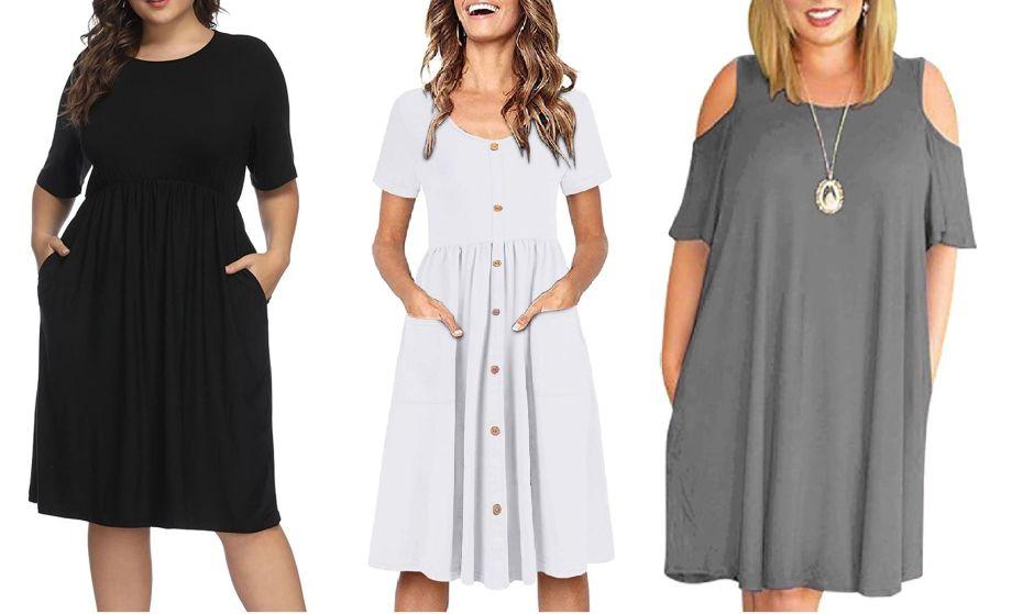 Los mejores estilos de vestidos con bolsillos para todo tipo de cuerpo