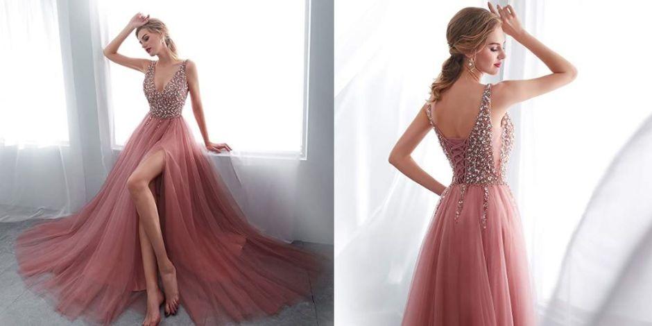 5 vestidos de noche que te harán lucir como toda una celebridad en cualquier evento que asistas