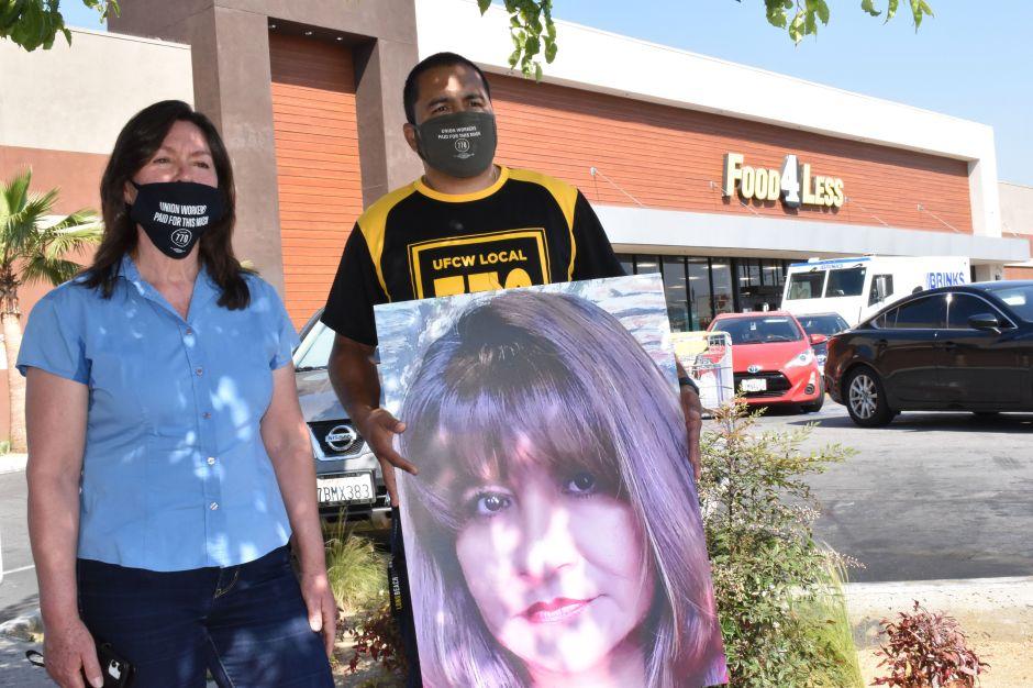 Caravana de autos pide más protecciones para los trabajadores esenciales