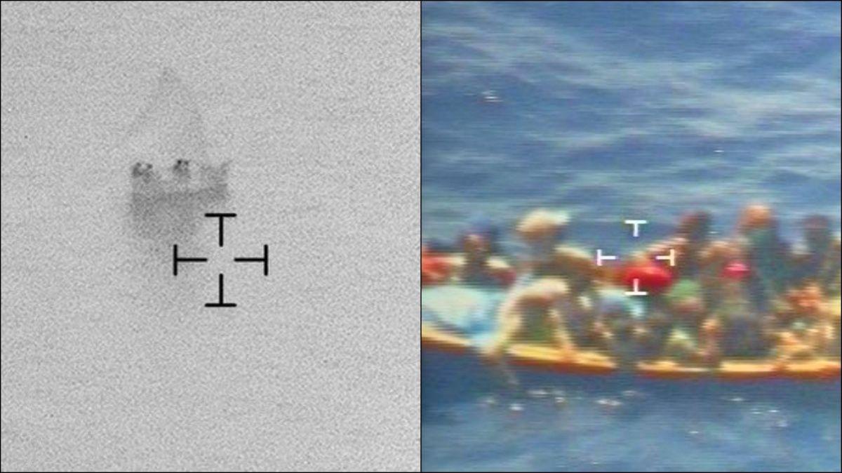 Embarcaciones detectadas por AMO.
