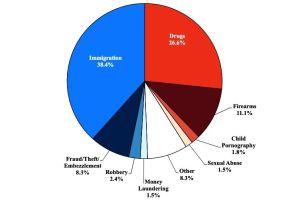 Violar la ley de inmigración es el delito número uno en EEUU