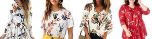 5 prendas con estampado floral ideales para usar en primavera