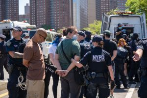Nueva York vuelve a la calle a protestar contra la violencia policial tras la muerte de George Floyd