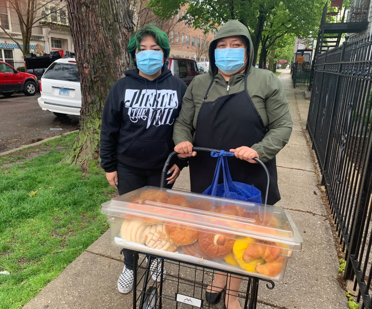 Comunidad apoya a vendedores ambulantes de Chicago afectados por la crisis del coronavirus