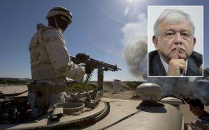 AMLO mantendrá a militares y marinos a cargo de la seguridad pública ante inseguridad