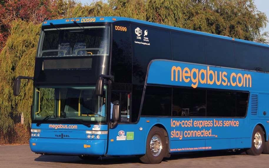 Unidad de dos pisos de Megabus