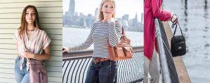 5 estilos de carteras con multi bolsillos para guardar tu desinfectante, mascarilla y todo lo que necesitas al salir de casa
