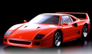Así quedó este Ferrari F40 que se prendió en fuego en Mónaco