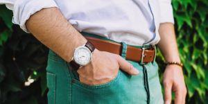 5 diseños de relojes con correa de cuero para hombres clásicos y elegantes