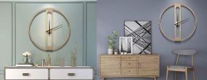 5 relojes decorativos que le darán un nuevo estilo a tu hogar