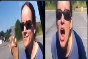 VIDEO: ¡Vuelve de donde viniste! grita mujer racista a hispano en estacionamiento de Walmart
