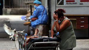 Las devastadoras imágenes de la saturación de hospitales por COVID-19 en Honduras