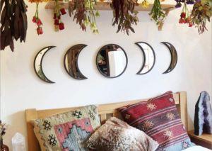 5 elementos decorativos con la imagen de la luna que proyectan la energía del astro en tu hogar