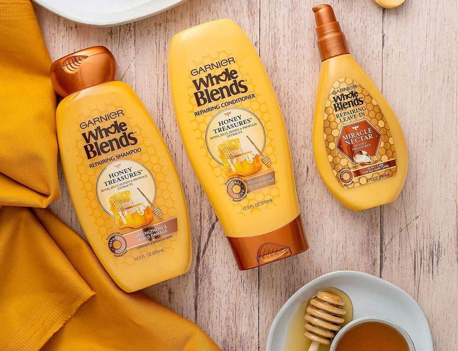 Los productos de Garnier Whole Blends que no deben faltar en tu rutina de cuidado del cabello