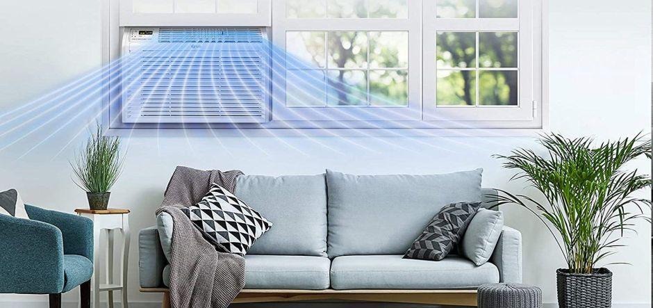 4 opciones de aires acondicionados de ventana y pared por menos de $250