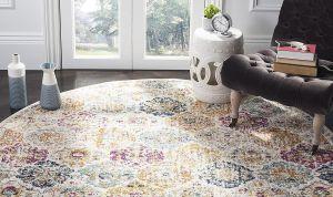 6 opciones de alfombras redondas que le darán un cambio radical a tu decoración en el hogar