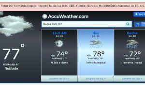 Alerta en playas y tierra hoy por tormenta tropical Fay en el área triestatal