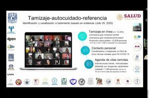 Personal de Salud en México recibe apoyo psicológico ante depresión por pandemia