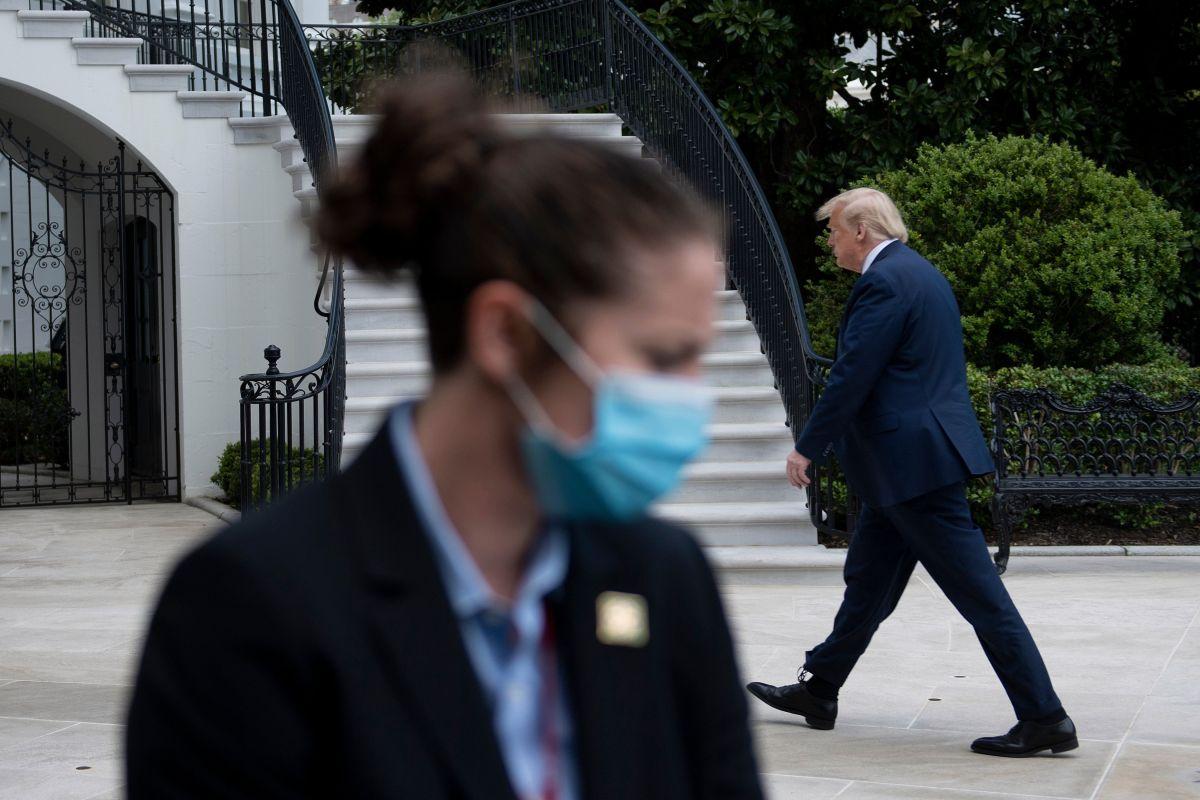 Los agentes del Servicio Secreto sí tienen la orden de utilizar máscaras