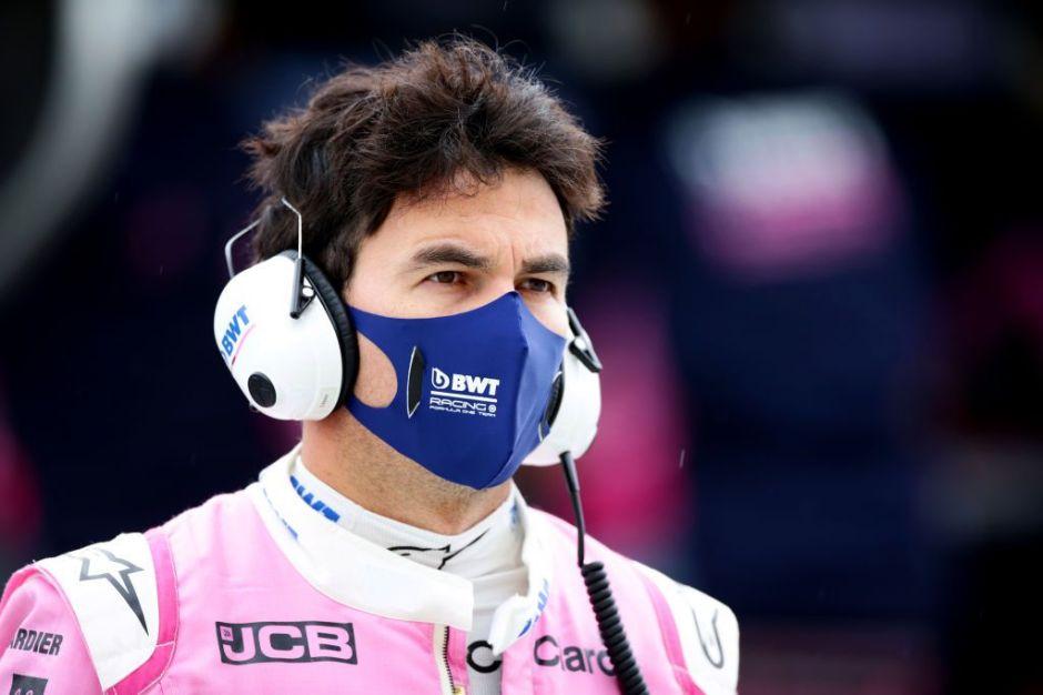 Sergio Checo Pérez se pierde GP de Gran Bretaña por dar positivo en Covid-19