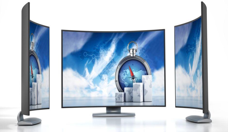 5 monitores curvos que cambiarán y mejorarán la forma en que usas tu computadora