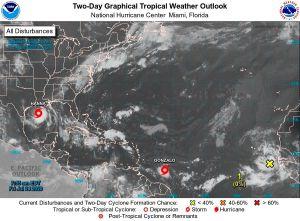 Trump declara emergencia en Texas por huracán Hanna, que ha dejado fuertes lluvias e inundaciones