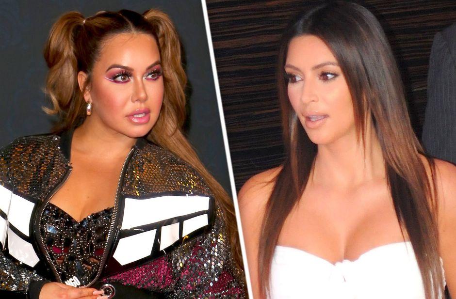 El escándaloso bikini rojo de Chiquis Rivera igual que el estampado de Kim Kardashian, ¿quién luce mejor?