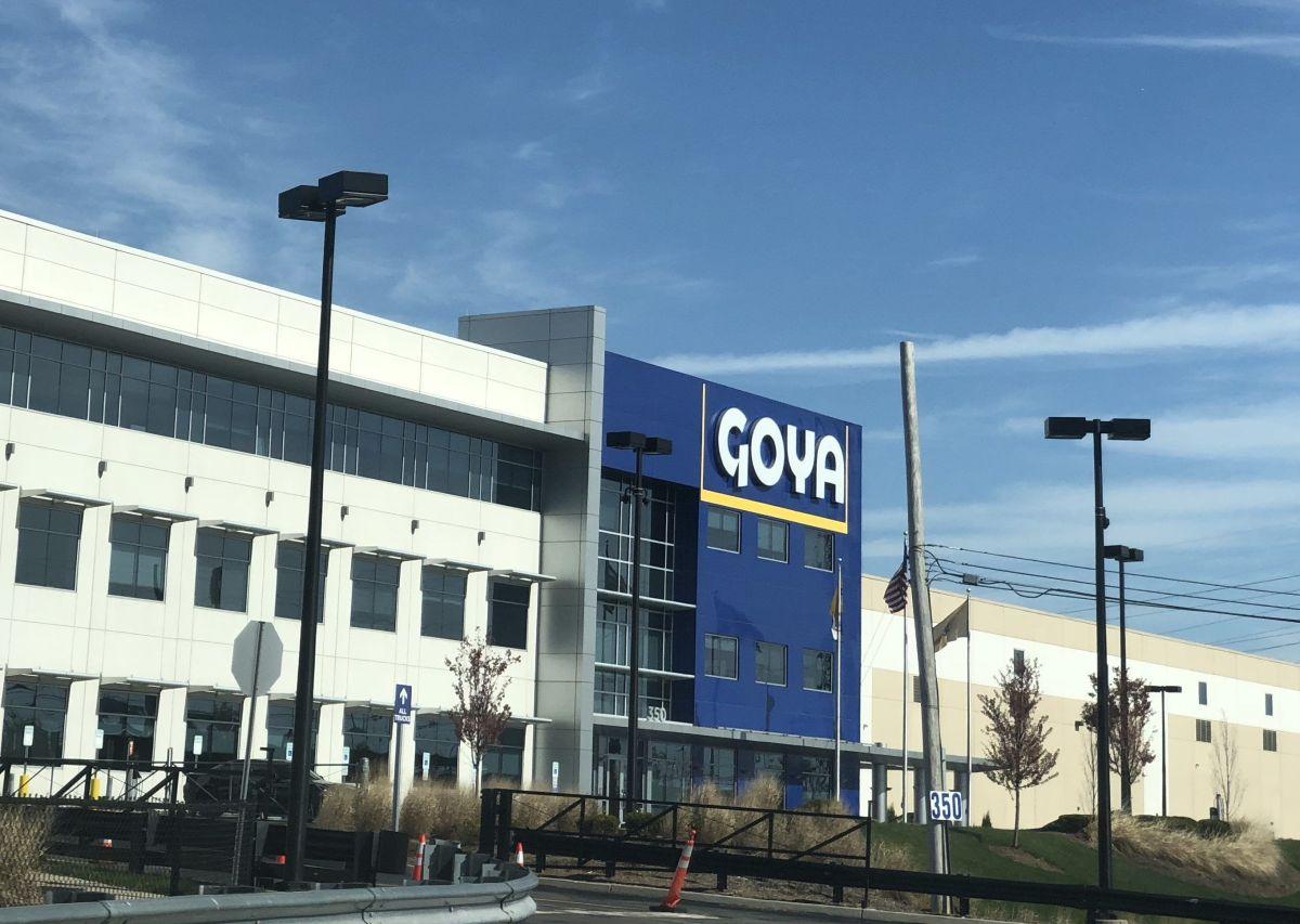 La sede de Goya en Nueva Jersey.