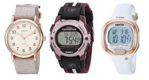 Los mejores 6 relojes Timex con diseños para mujeres activas