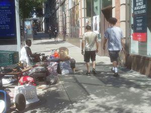 Critican ceguera del alcalde por negar crecida de campamentos de indigentes en Nueva York